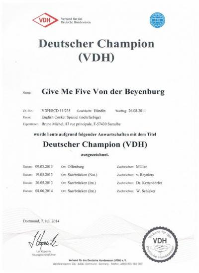 Laly deutscher champion